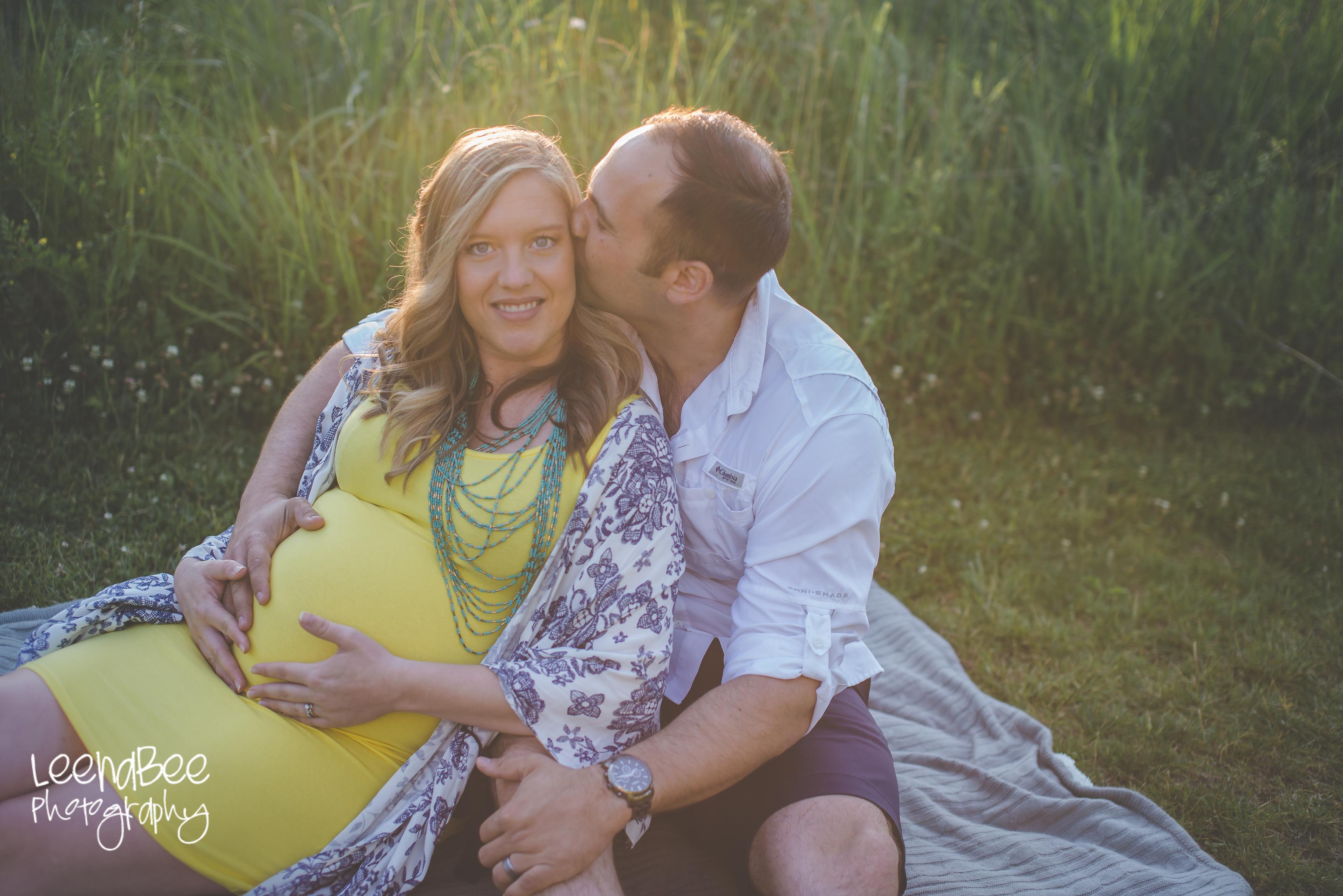 Dublin sunset maternity session-5